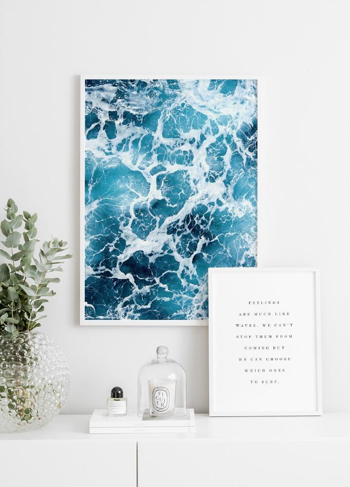 Churning Sea Poster