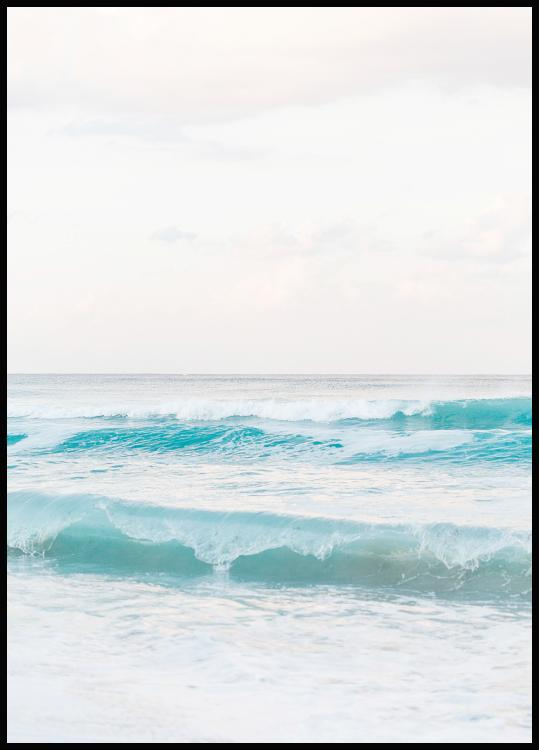 Beach Wave Poster
