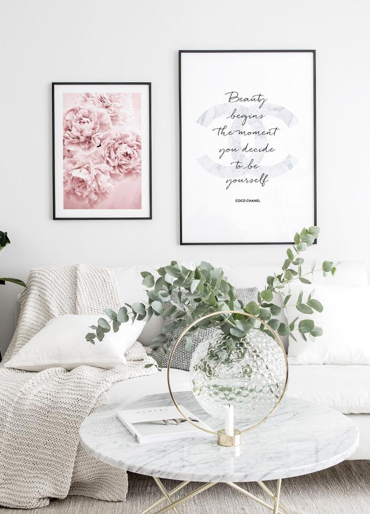 Pink Flower Dream Poster